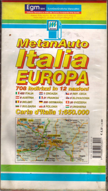 Carta metanauto Ital...