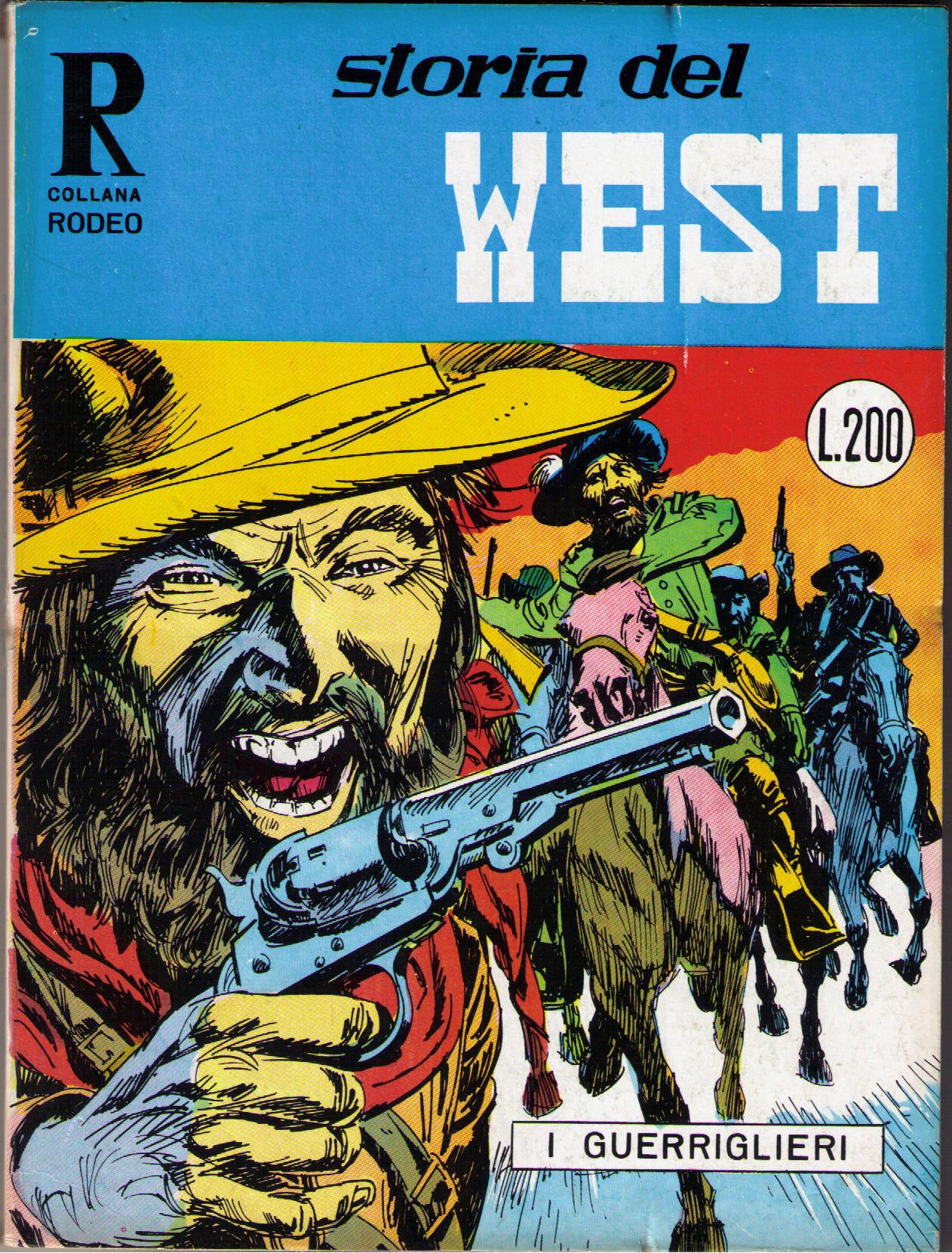 Storia del west n.25 (Collana Rodeo n.54)