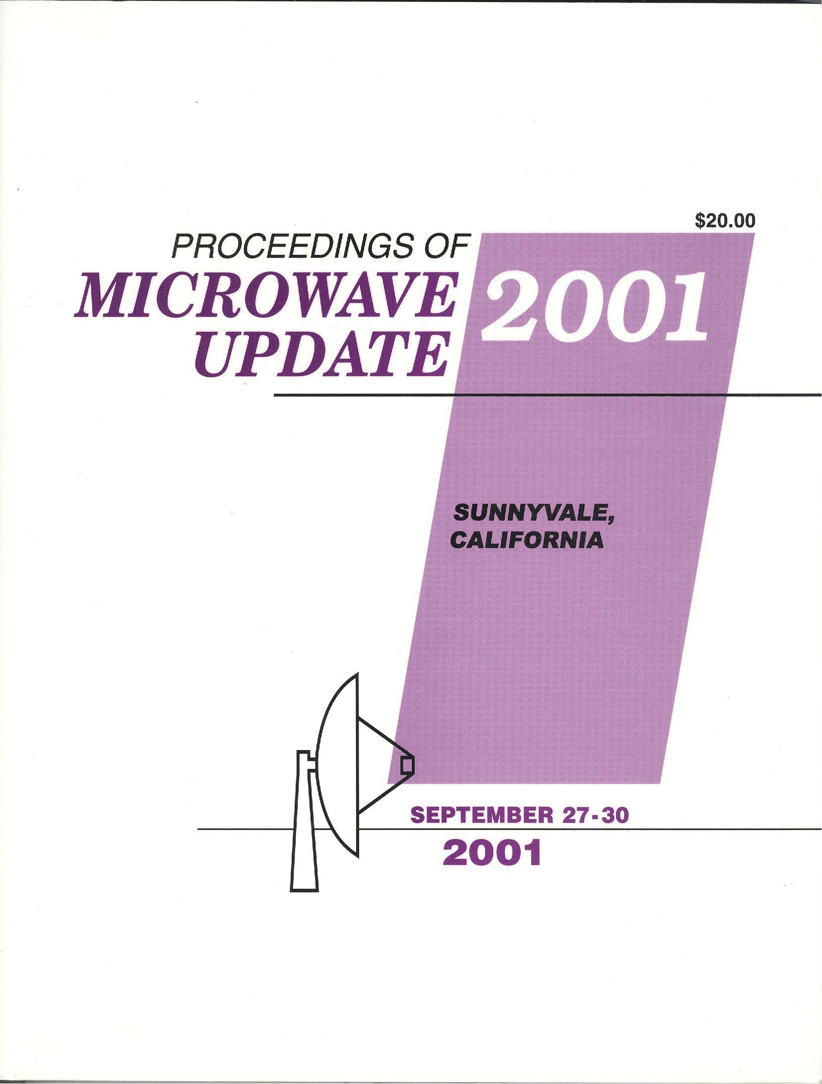 Proceedings of Microwave Update 2001