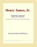 Henry James, Jr. (Webster's Japanese Thesaurus Edition)