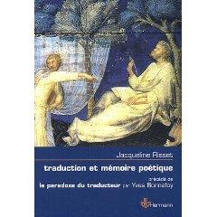 Traduction et mémoire poétique