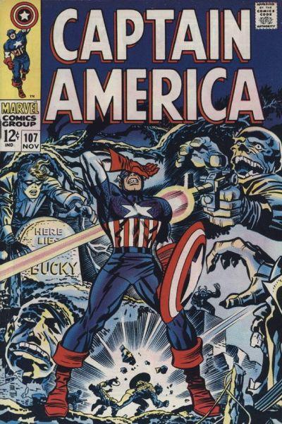 Captain America Vol.1 #107