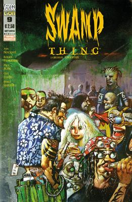 Swamp Thing di Brian K. Vaughan n. 9