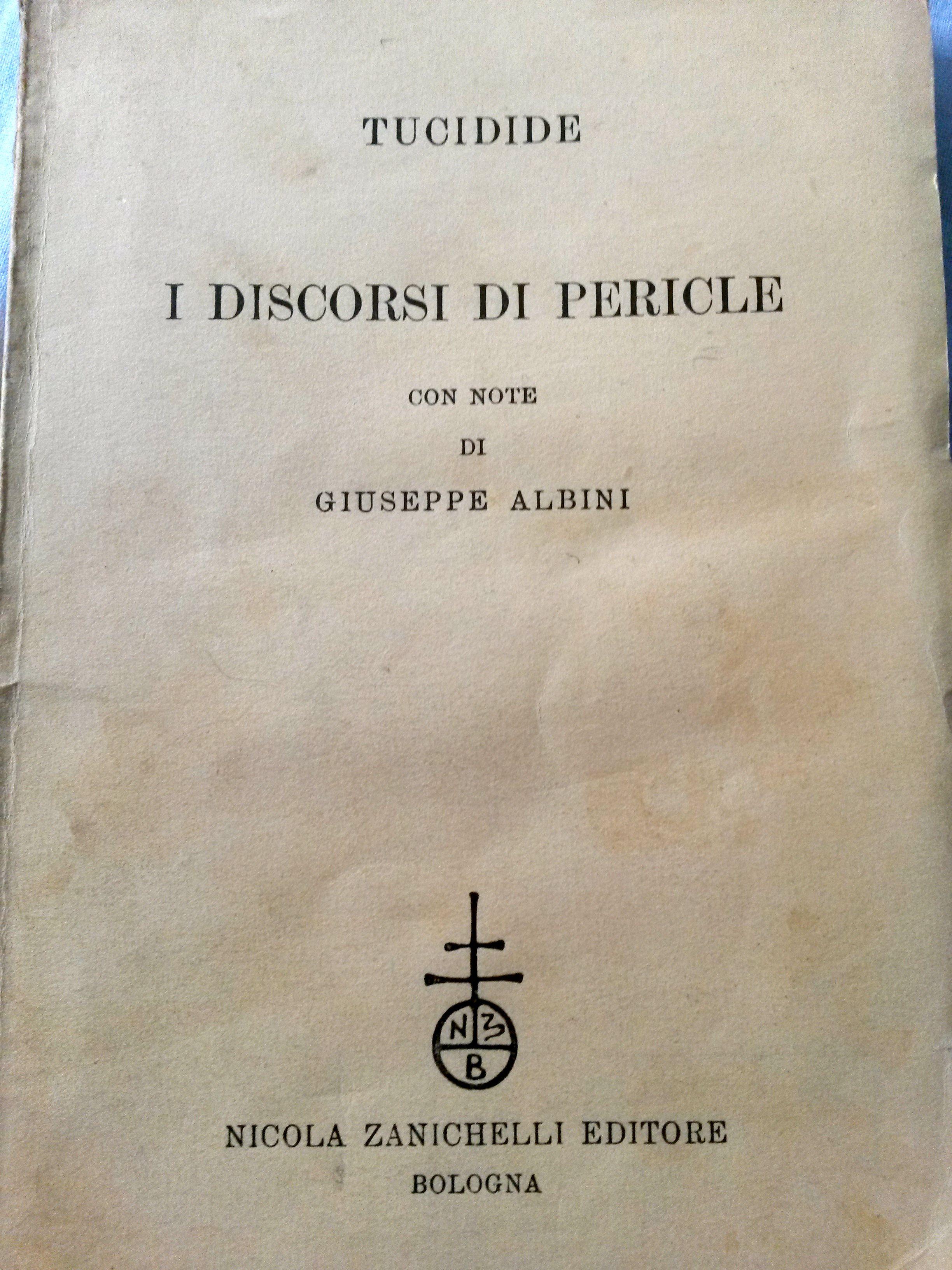 I discorsi di Pericle