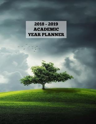 Stormy Weather Landscape Academic Year Planner 2018 - 2019
