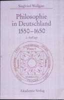Philosophie in Deutschland zwischen Reformation und Aufklärung, 1550-1650