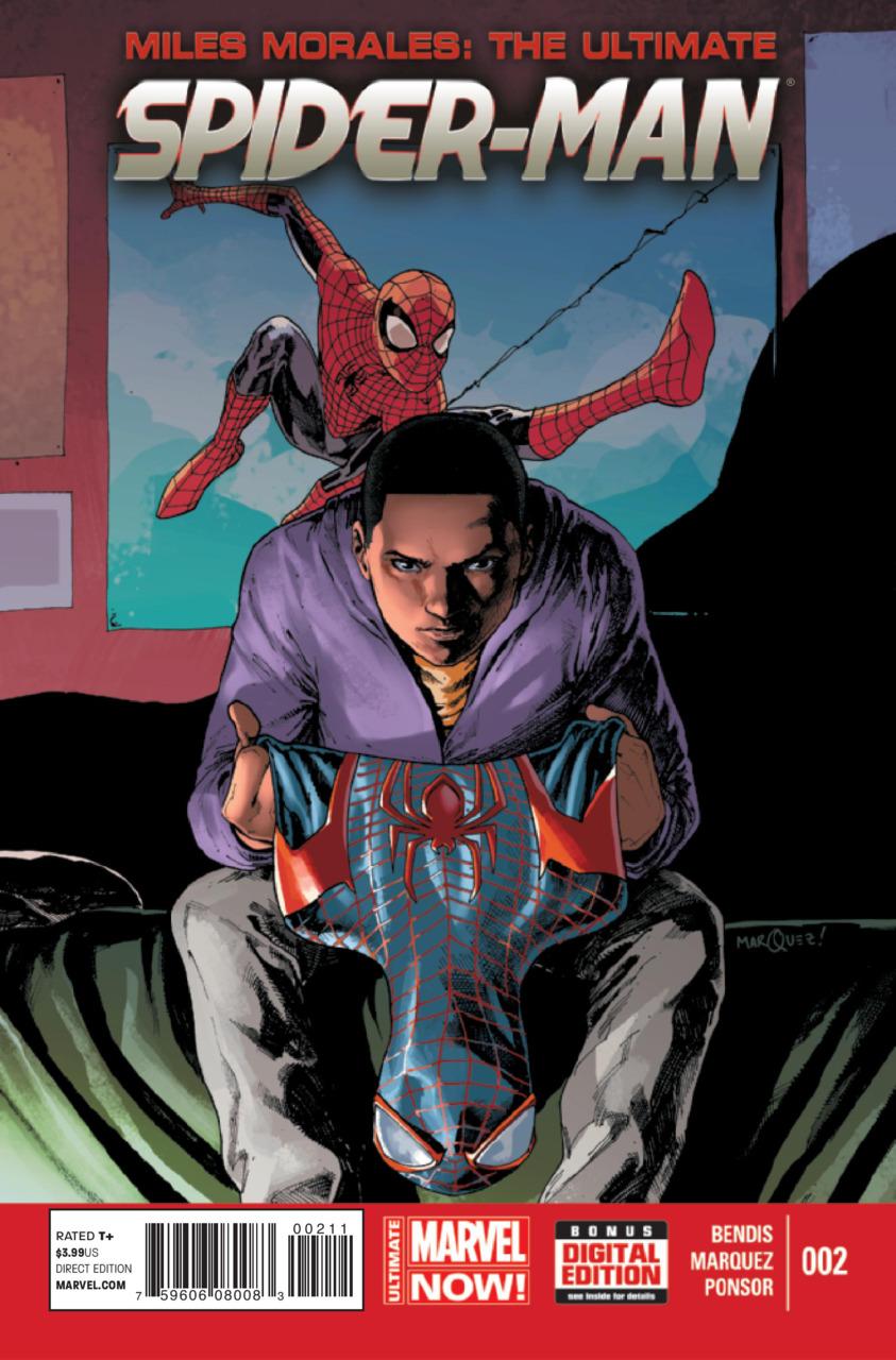 Miles Morales: Ultimate Spider-Man Vol.1 #2