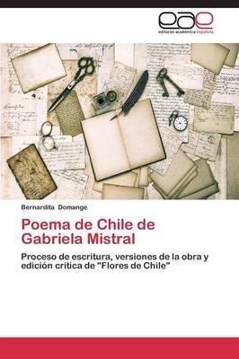 Poema de Chile de Gabriela Mistral