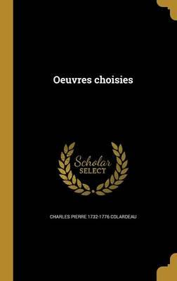 FRE-OEUVRES CHOISIES