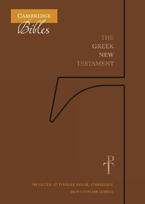 The Greek New Testament, Brown Cowhide TH518
