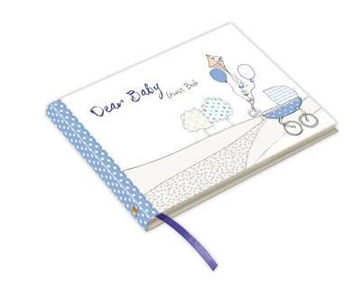 Dear Baby Guest Book (Blue)