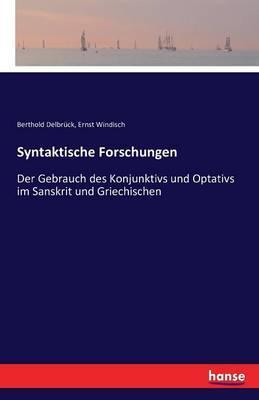 Syntaktische Forschungen