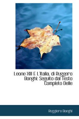 Leone XIII E L'Italia, Di Ruggero Bonghi