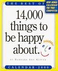 14, 000 Things Calendar