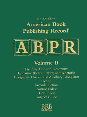 American Book Publishing Record Cumulative 1997