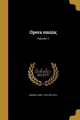 LAT-OPERA OMNIA VOLUMEN 1