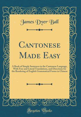Cantonese Made Easy