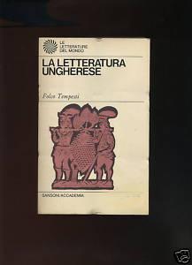 La letteratura ungherese