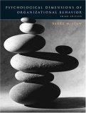 Psychological Dimensions of Organizational Behavior, Third Edition