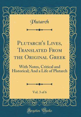 Plutarch's Lives, Tr...