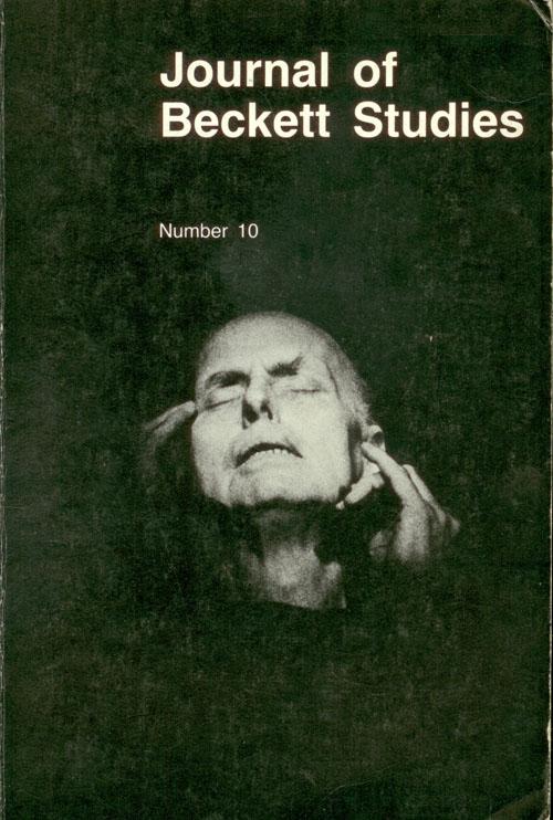 Journal of Beckett Studies. Number 10