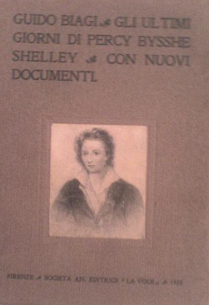 Gli ultimi giorni di P. B. Shelley