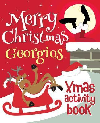 Merry Christmas Georgios - Xmas Activity Book