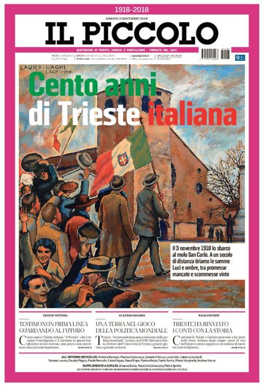 Cento anni di Trieste italiana