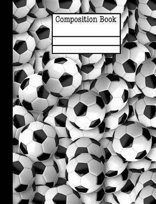 Soccer Ball Composition Notebook - 4x4 Quad Ruled