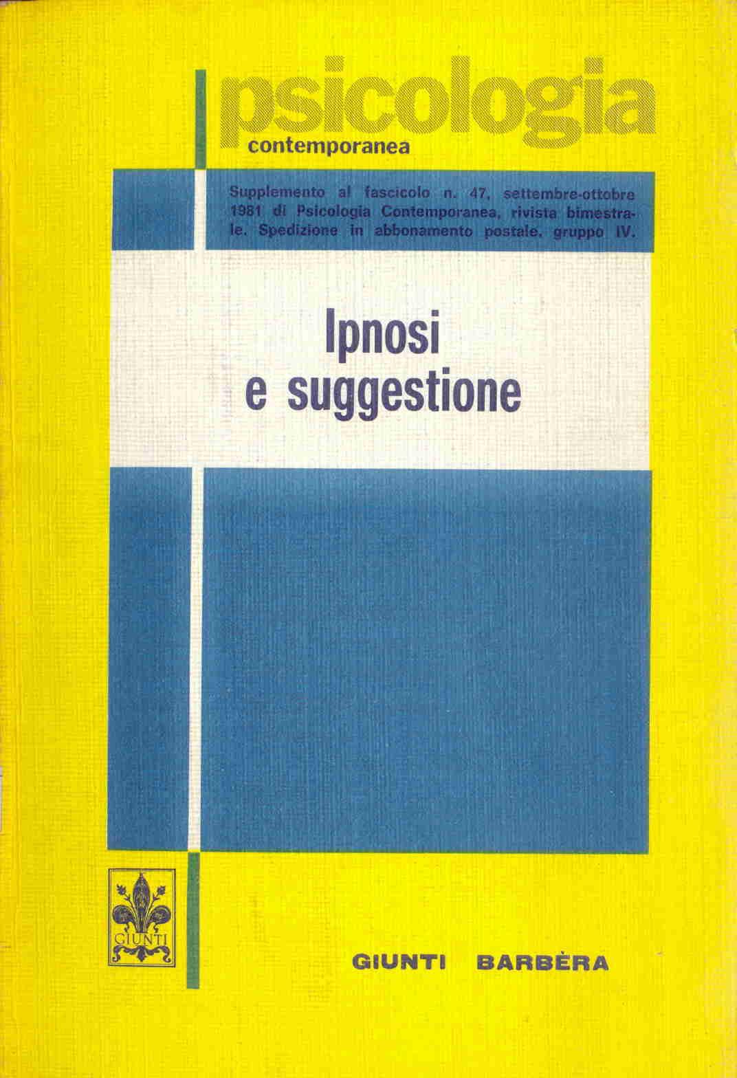 Ipnosi e suggestione