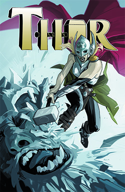 Thor #1 All New Marvel Now! - Variant FX Metallizzata