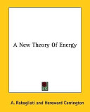 A New Theory of Energy