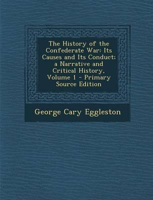 The History of the Confederate War