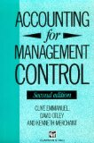 Accounting for Management Control