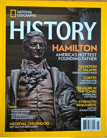 National Geographic History, May-June 2016