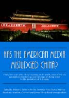 Has The American Media Misjudged China?