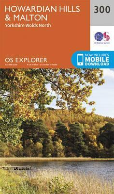 OS Explorer Map (300) Howardian Hills and Malton