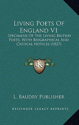 Living Poets of England V1