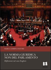 La norma giuridica non del Parlamento. Riflessioni sul caso Englaro