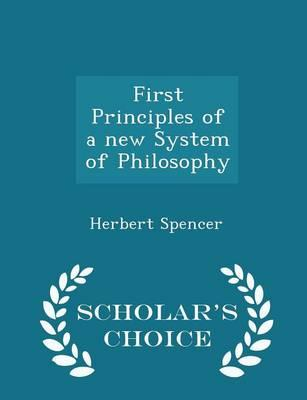 First Principles of ...