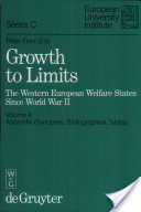 Growth to Limits: Appendix (synopses, bibliographies, tables)