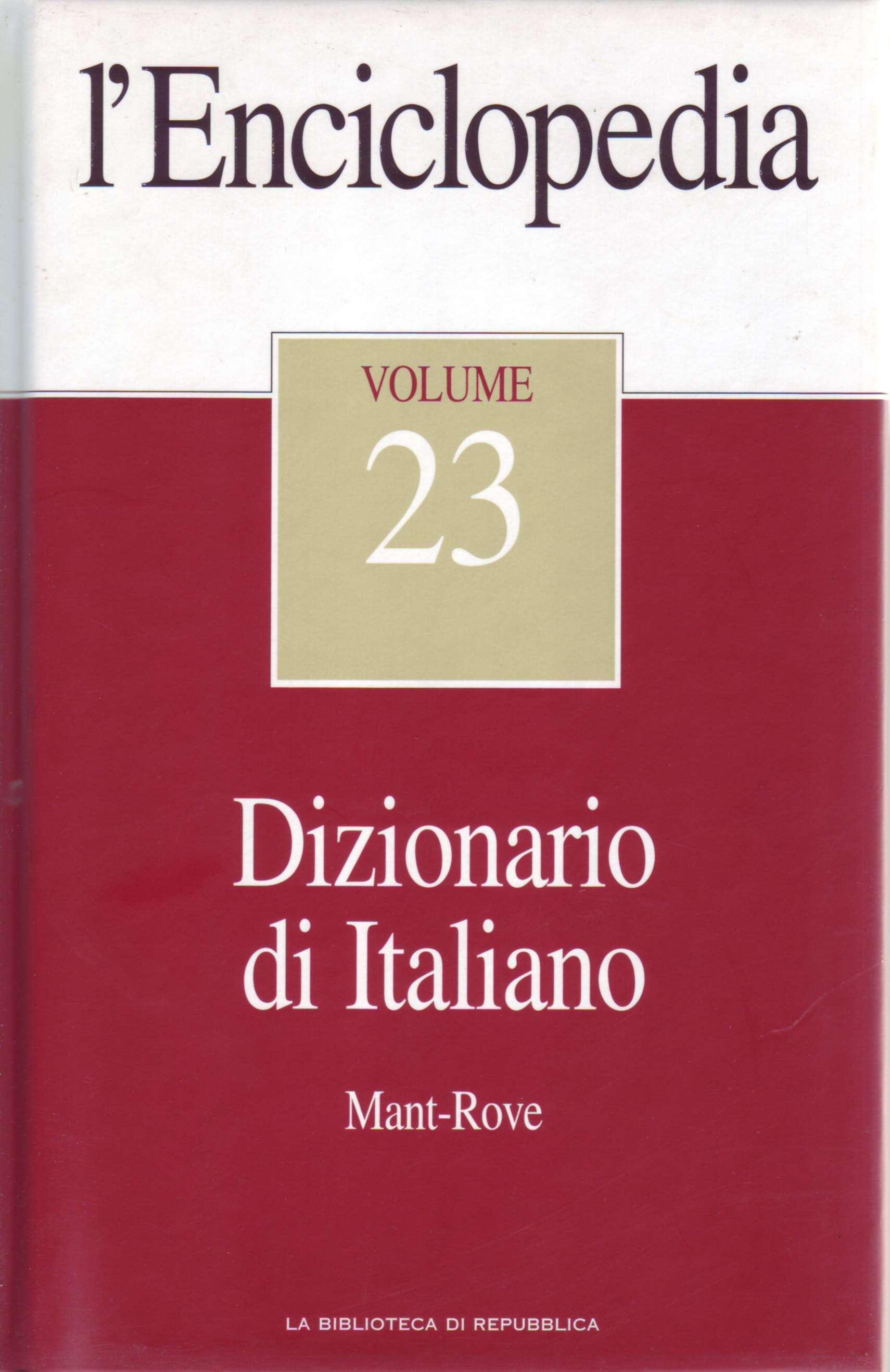 L'Enciclopedia - Vol. 23 - Dizionario di Italiano 3