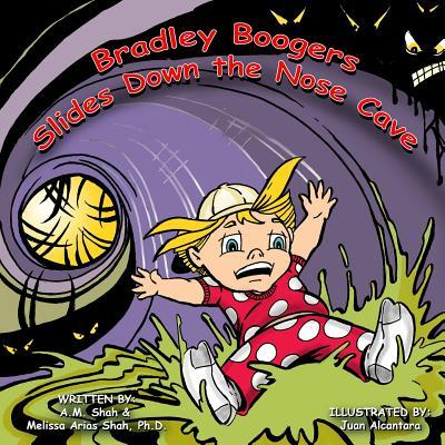 Bradley Boogers Slides Down the Nose Cave