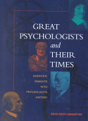 Great Psychologists and Their Times