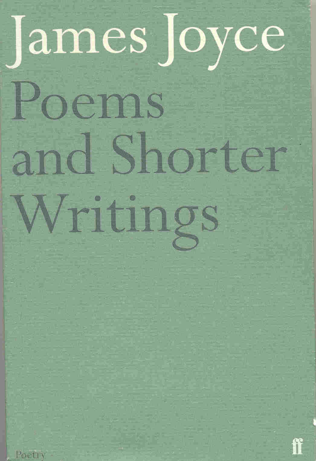 Poems and Shorter Wr...
