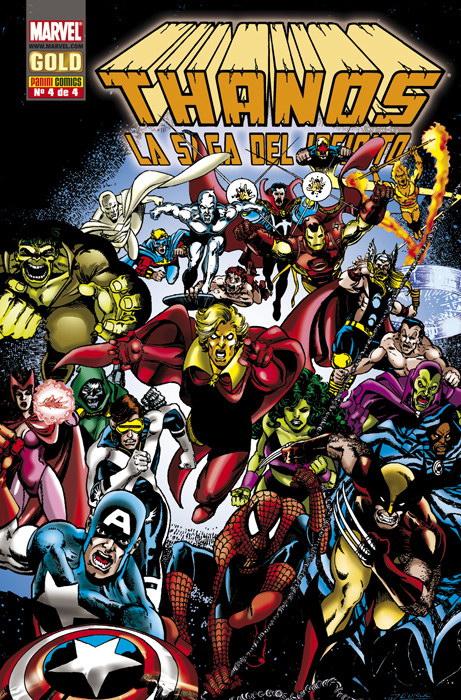 Thanos: La saga del infinito #4 (de 4)