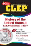 The CLEP History of the United States I w/CD