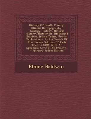 History of Lasalle County, Illinois