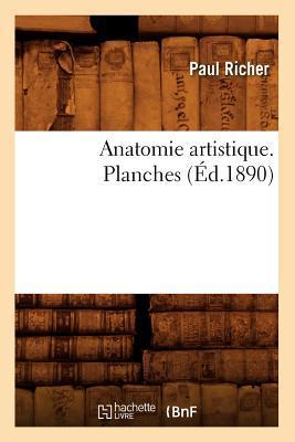 Anatomie Artistique. Planches (ed.1890)