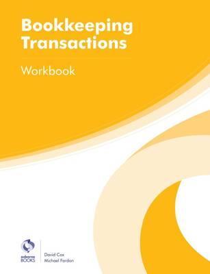 Bookkeeping Transactions Workbook